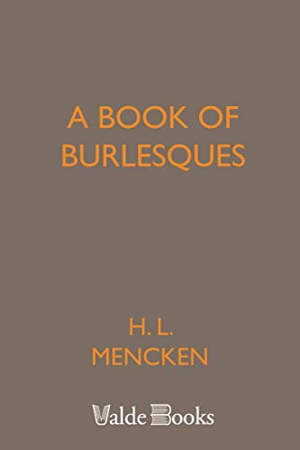 9781444455410: A Book of Burlesques