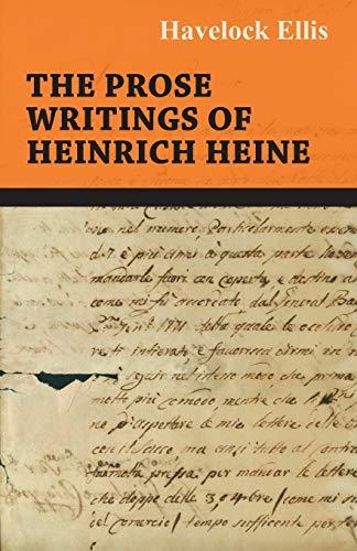 9781444656633: The Prose Writings of Heinrich Heine