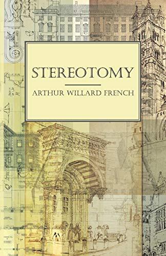 9781444674507: Stereotomy