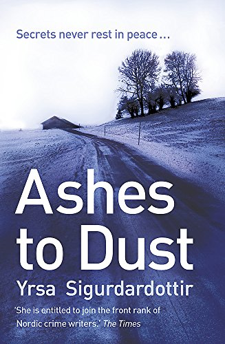 9781444700060: Ashes to Dust (Thora Gudmundsdottir)