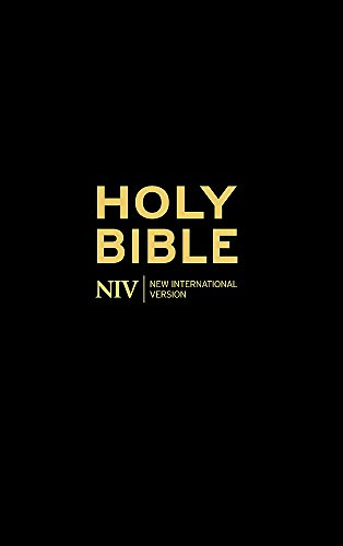 9781444701166: The Holy Bible: New International Version. (Black)