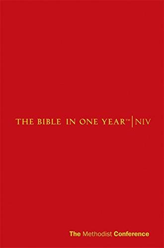 9781444701395: Niv Methodist Bible in One Year