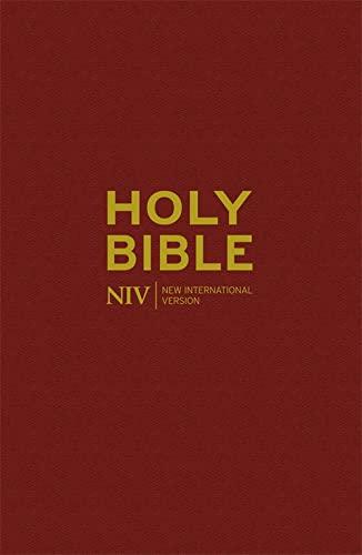 NIV Popular Blue Hardback Bible 20 Copy