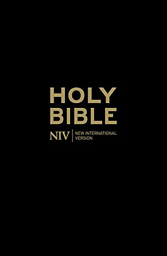 NIV Popular Cross-Reference Bible (Black Leather): International Version, New