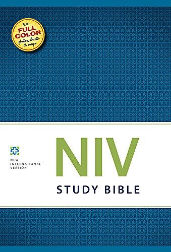 9781444702774: NIV Study Bible Hardback (New International Version)