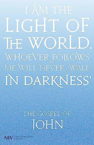 9781444702880: NIV Gospel of John
