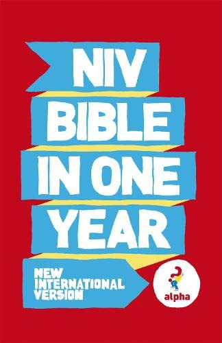 9781444703238: NIV Alpha Bible in One Year (Niv Bibles)