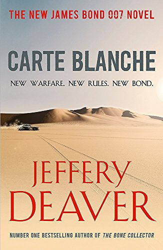 Carte Blanche (James Bond): Deaver, Jeffery