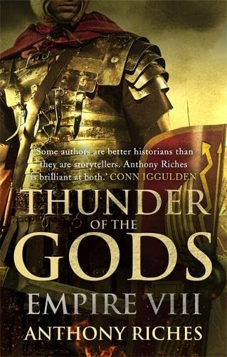 THUNDER OF THE GODS - EMPIRE VOLUME EIGHT - SIGNED FIRST EDITION FIRST PRINTING