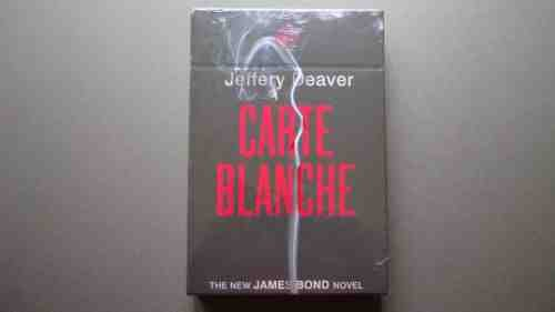 Carte Blanche: Jeffery Deaver - SEALED SLIPCASED SIGNED NUMBERED LIMITE EDITION