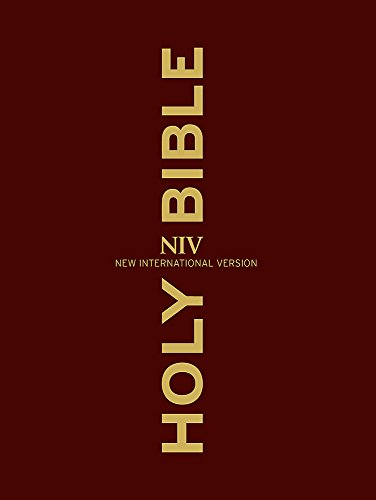 9781444745252: NIV Clear Print Bible (New International Version)