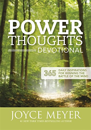 9781444749991: Power Thoughts Devotional: 365 daily inspirations for winning the battle of your mind