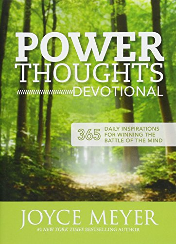 9781444750010: Power Thoughts Devotional: 365 Daily Inspirations for Winning the Battle of Your Mind