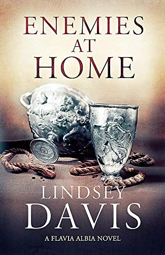 ENEMIES AT HOME - THE 2ND FLAVIA ALBIA MYSTERY - SIGNED FIRST EDITION FIRST PRINTING