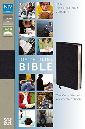 9781444789584: NIV Thinline Black Bonded Leather Bible