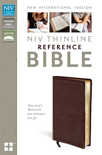 9781444791297: NIV Thinline Reference Bible Burgundy Leather
