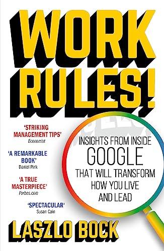 9781444792386: Work Rules!