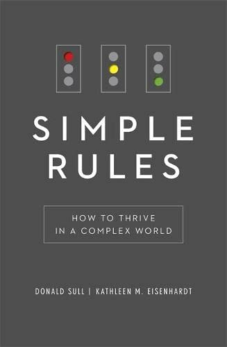 9781444796551: Simple Rules: How to Thrive in a Complex World