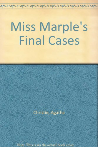 9781444802344: Miss Marple's Final Cases