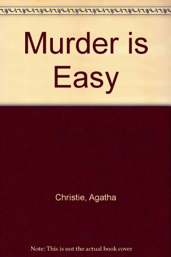 9781444802948: Murder is Easy