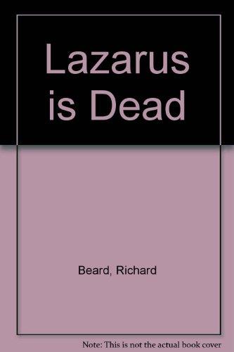 9781444812435: Lazarus is Dead