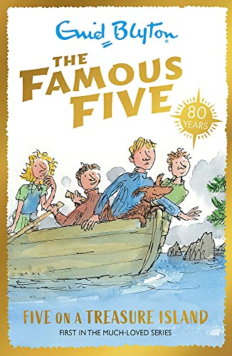 9781444908657: Famous Five: 1: Five On A Treasure Island: 70th Anniversary Edition (Famous Five 70th Anniversary)