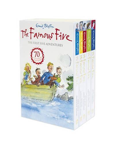 9781444912487: Famous Five: 1-5
