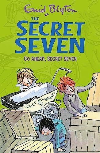 9781444913477: Go Ahead, Secret Seven: Book 5