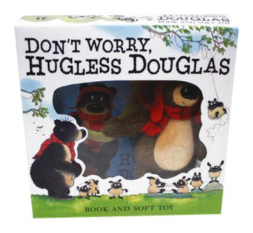 9781444915624: Don't Worry Hugless Douglas Set (Book and Plush Toy)