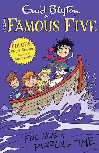 Five Have a Puzzling Time (Paperback): Enid Blyton