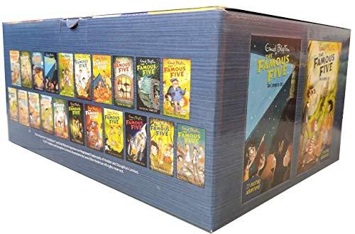 9781444916416: Famous Five 21 copy box set INDIA
