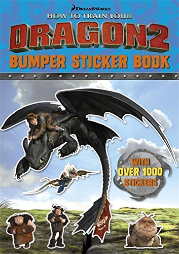 How To Train Your Dragon 2 Bumper Sticker Book: Dreamworks Animation LLC