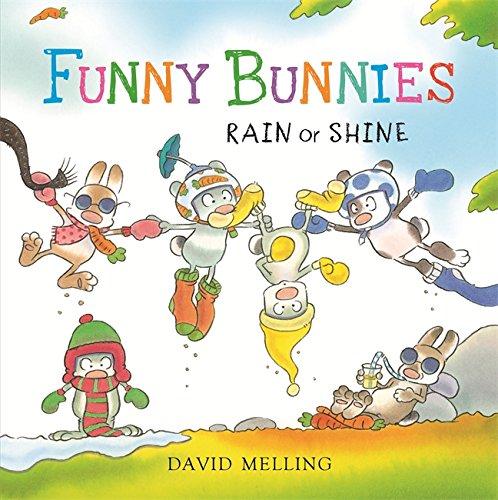9781444919127: Funny Bunnies: Rain or Shine Board Book
