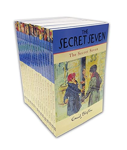 9781444931242: Secret Seven 16 Book Complete Classic Edition Gift Set (Secret Seven Collections and Gift books)