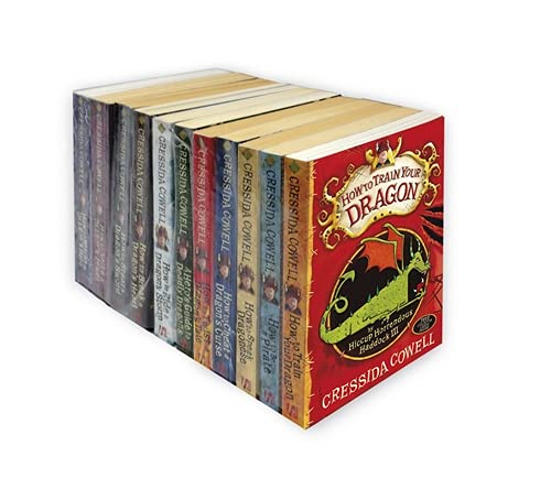 9781444932249: How to Train Your Dragon: Books 1-11 Pack