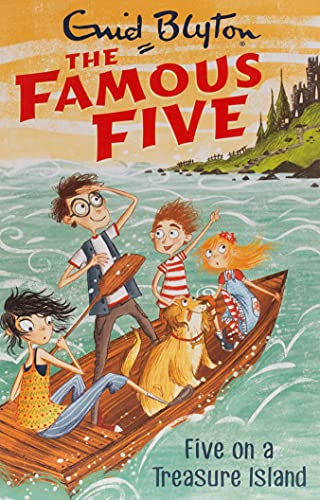9781444935011: Famous five 1. Five on a treasure island