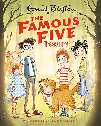 9781444939385: The Famous Five Treasury