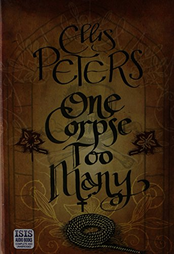 One Corpse Too Many (1445016311) by Peters, Ellis