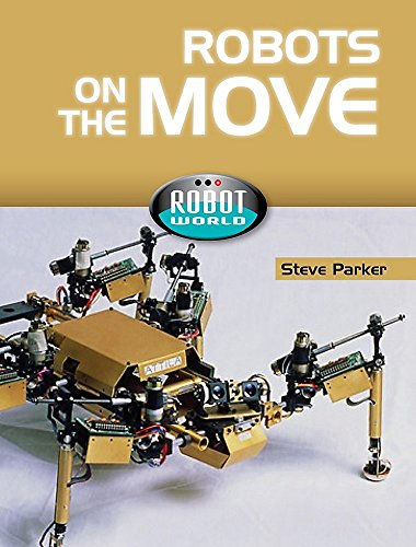 9781445100340: Robots on the Move (Robot World)