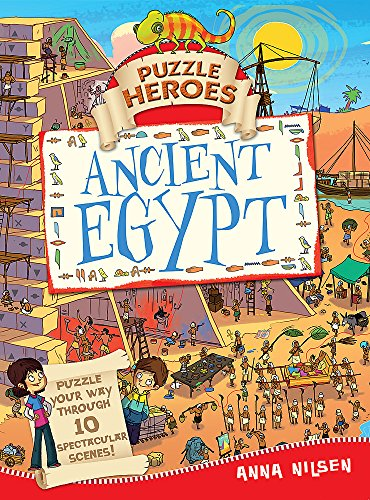 9781445119106: Ancient Egypt (Puzzle Heroes)