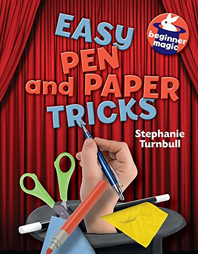 9781445121772: Easy Pen and Paper Tricks (Beginner Magic)