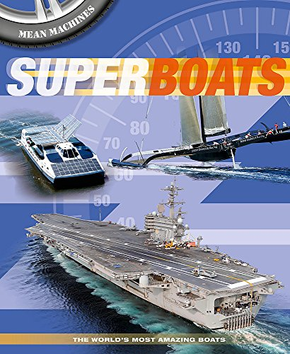 Superboats (Mean Machines): Harrison, Paul
