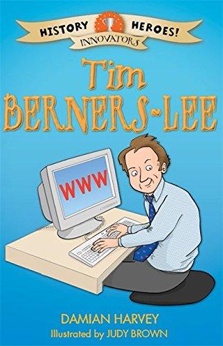 History Heroes: Tim Berners-Lee (Paperback): Damian Harvey