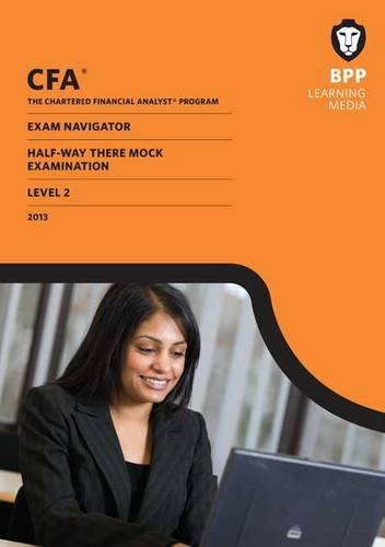 9781445363073: CFA Navigator - Halfway-there Mock Exam Level 2