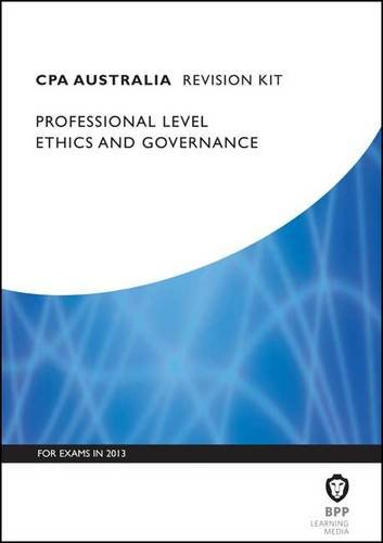 9781445366104: CPA - Ethics and Governance: Revision Kit