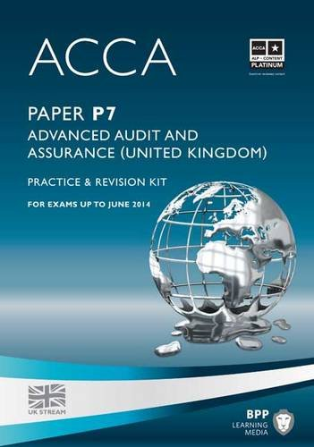9781445366579: ACCA - P7 Advanced Audit and Assurance (UK) (Revision Kit)