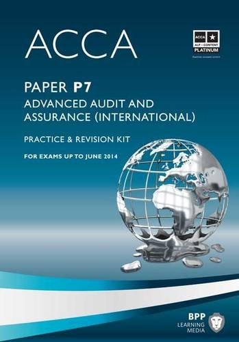 9781445366586: ACCA - P7 Advanced Audit and Assurance (International) (Revision Kit)