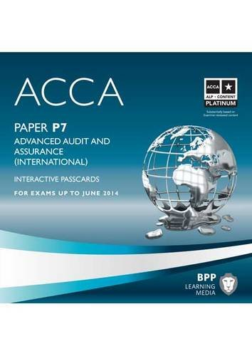 9781445366722: ACCA - P7 Advanced Audit and Assurance (International): Interactive Passcard
