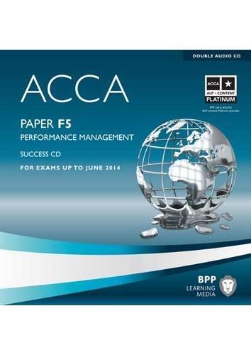 9781445366753: ACCA - F5 Performance Management: Audio Success CDs