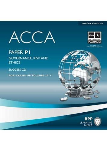 9781445366807: ACCA - P1 Governance, Risk and Ethics: Audio Success CDs